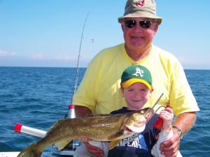 lucky strike fishing charters lake erie ohio walleye and perch charters conneaut and geneva