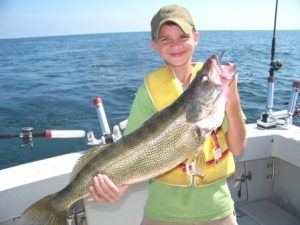 trophy fishing charter fro walleye and perch geneva and conneaut ohio lake erie fishing charters ashtabula ohio