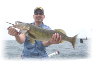 trophy walleye fishing charters conneaut and geneva lake erie walleye charters ashtabula oh
