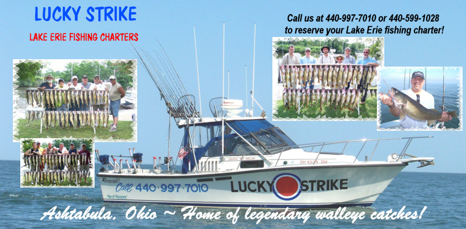 Lucky Strike ~ Ashtabula Ohio fishing charter