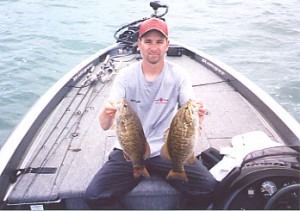 smallmouth bass charter lake erie ashtabula ohio