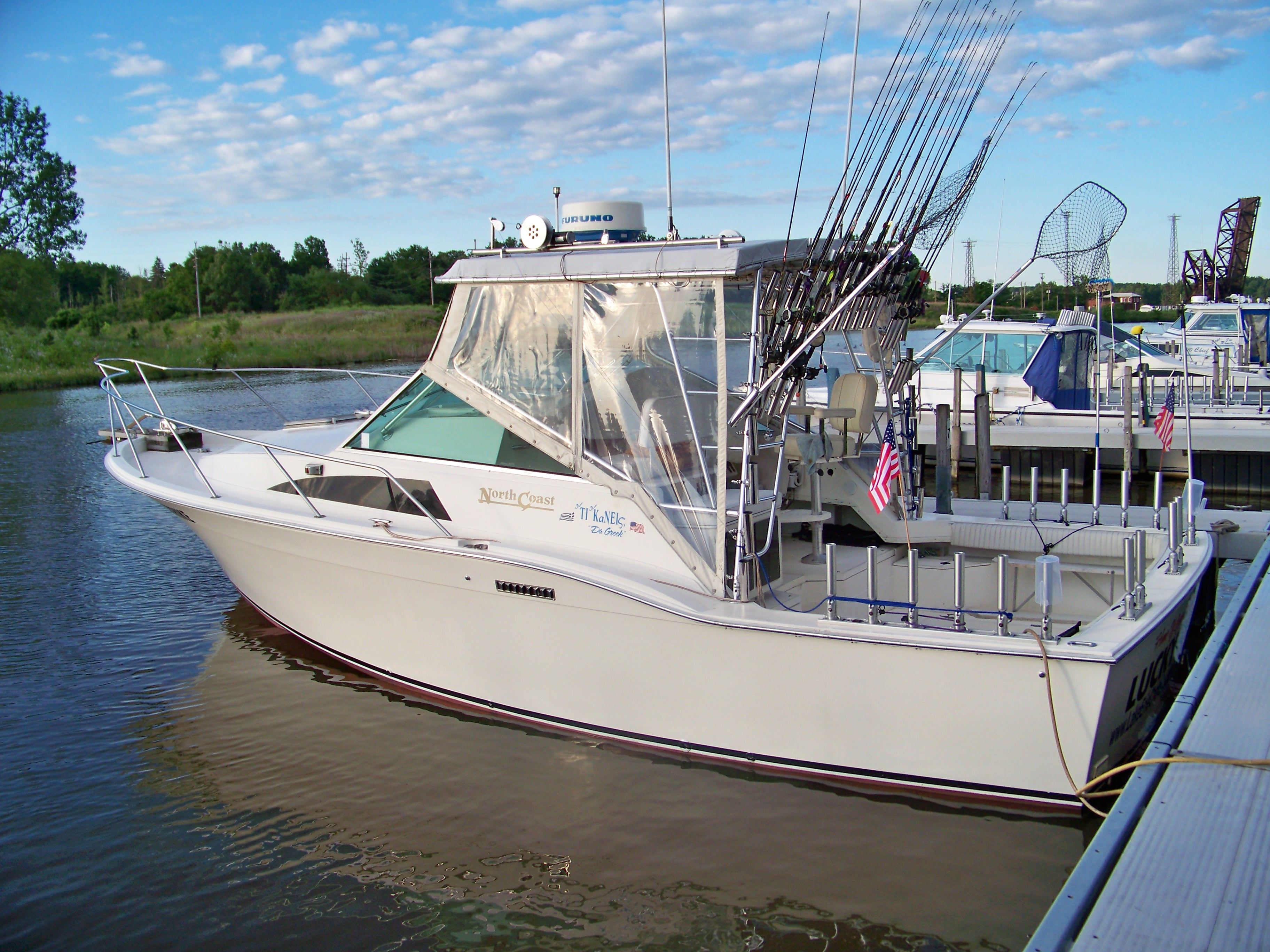 Lake Erie fishing charters ashtabula ohio
